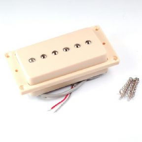 Kent Armstrong Humbucker Retrofit P90 Pickup Cream